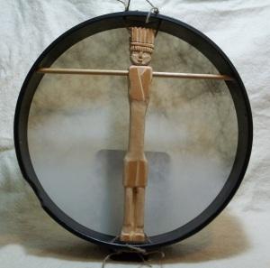 Tuvan Style Frame Drum